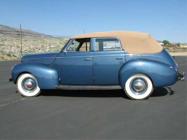 Classic cars for sale 1940 mercury eight four door for 1940 mercury 4 door convertible