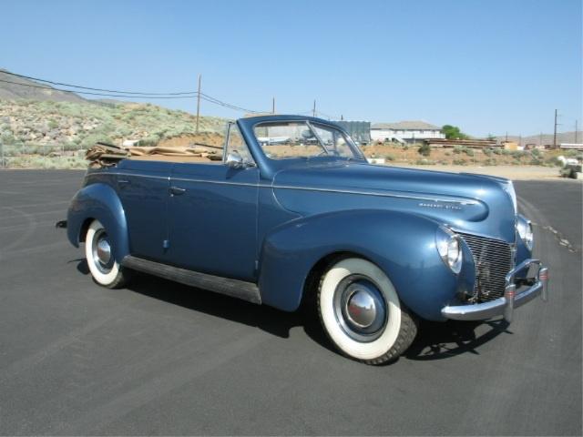 Price for 1940 mercury 4 door convertible